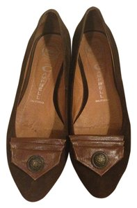 Jeffrey Campbell Suede Brown Flats