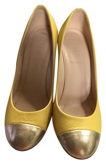 Preload https://img-static.tradesy.com/item/3492070/jcrew-yellow-and-gold-the-etta-pumps-size-us-75-regular-m-b-0-0-540-540.jpg