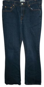 Levi's Cotton Boot Cut Jeans-Dark Rinse