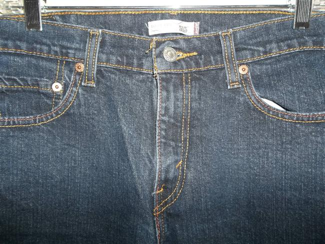 Levi's Cotton 515 Style Size 10m Boot Cut Jeans-Dark Rinse