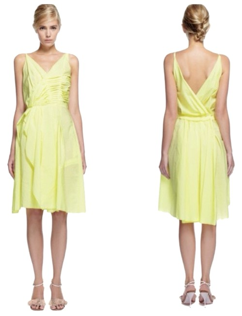 Preload https://item2.tradesy.com/images/nina-ricci-camomilleyellow-cotton-cocktail-dress-size-6-s-3492661-0-0.jpg?width=400&height=650