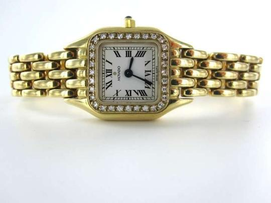 Vintage MOVADO 14KT WATCH 14K YELLOW GOLD DIAMOND BEZEL 19.9DWT SPAIN SAPPHIRE CRYSTAL