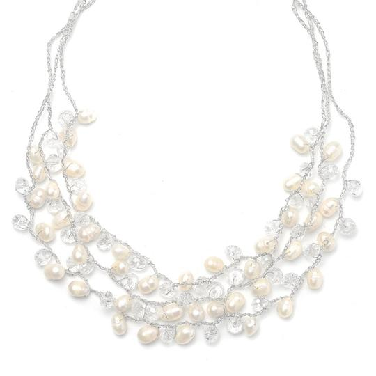 Mariell Pearl Genuine Freshwater 3-row 3132n Necklace