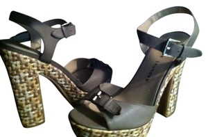 Chinese Laundry Platform Tan Sandals