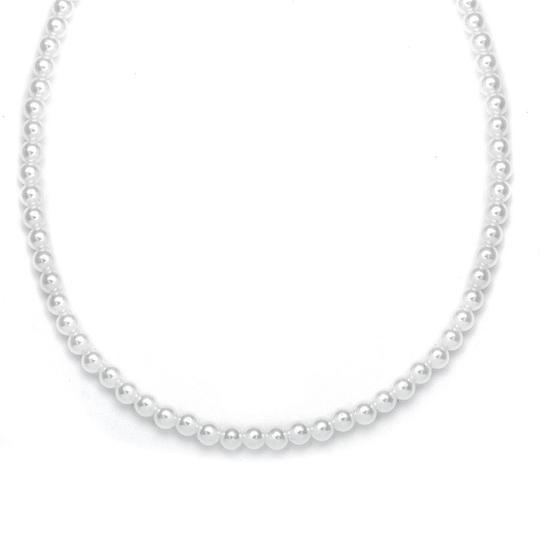 Preload https://img-static.tradesy.com/item/3493354/mariell-white-pearl-single-strand-6mm-182n-necklace-0-0-540-540.jpg