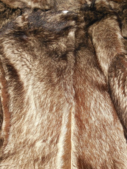 Dolce&Gabbana Dolce And Gabbana Suede Parka Fur Coat