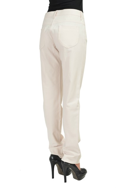 Maison Margiela Straight Pants Ivory