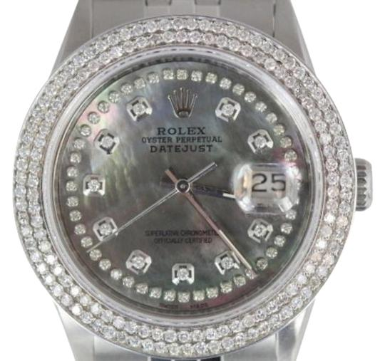 Preload https://item2.tradesy.com/images/rolex-5ct-men-s-datejust-ss-w-box-and-appraisal-watch-3493981-0-4.jpg?width=440&height=440