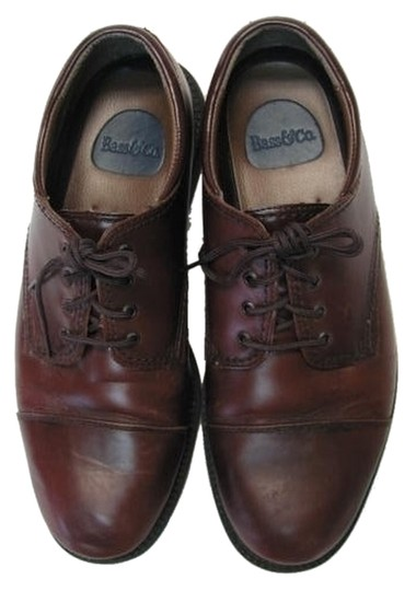 Preload https://item3.tradesy.com/images/bass-brown-leather-good-condition-mens-flats-size-us-105-regular-m-b-3494122-0-0.jpg?width=440&height=440