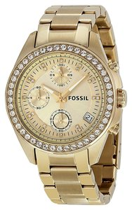 Fossil Fossil Ladies watch ES2683 Gold Analog