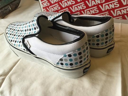 Vans Polka Dots Classic Slip On Black/White/Pewter Athletic