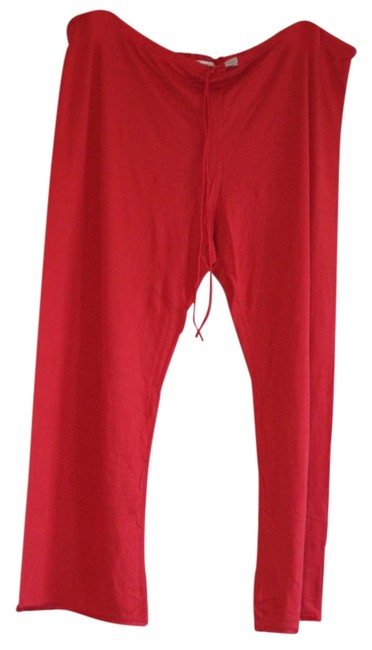 Banana Republic Modal Relaxed Pants Red
