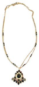 Other Long Black Statement Necklace