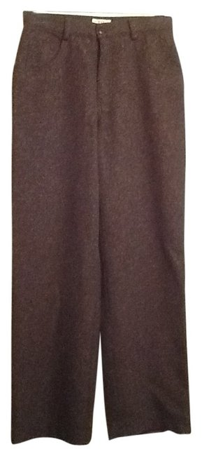 Gap Wide Leg Pants Brown