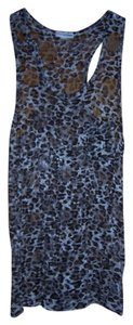 Victoria's Secret Top Black and Brown Animal Cheetah print. lace