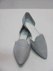 Chinese Laundry New Excellent Condition Size 11 white, gray/silver Flats