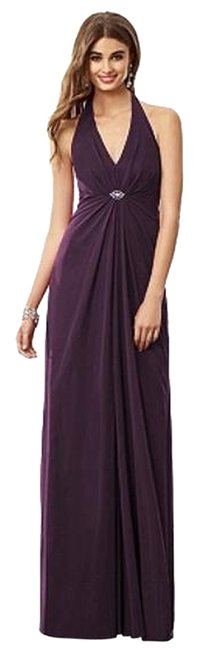 Preload https://item2.tradesy.com/images/after-six-aubergine-6692-long-night-out-dress-size-16-xl-plus-0x-3495991-0-0.jpg?width=400&height=650