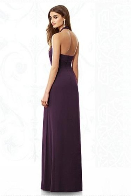After Six Halter Chiffon With Tags Dress