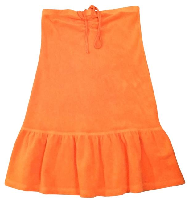Item - Orange Terry Cloth Cover-up/Sarong Size 0 (XS)