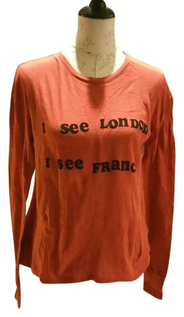 Preload https://img-static.tradesy.com/item/3496468/wildfox-red-off-to-europe-long-sleeve-tee-shirt-size-4-s-0-0-650-650.jpg