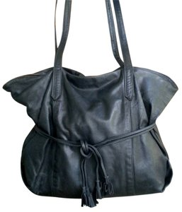 Mann Leather of Canada Purse Heavy Thick Tote Shoulder Bag