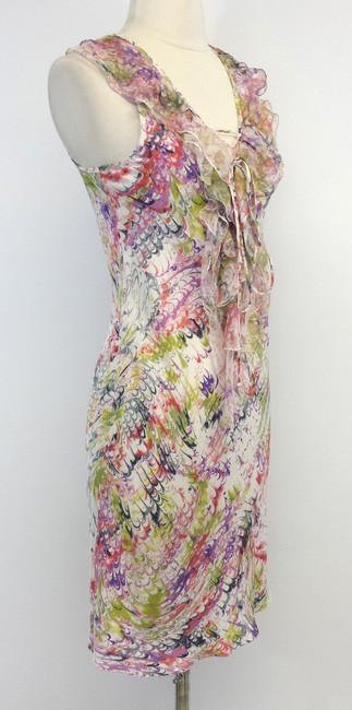 Other short dress Multi Color Print Silk Sleeveless on Tradesy