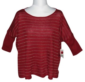 Derek Heart Top Red