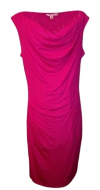 Preload https://item3.tradesy.com/images/banana-republic-fuchsia-pink-br-new-stunning-color-m-knee-length-cocktail-dress-size-10-m-34977-0-1.jpg?width=400&height=650