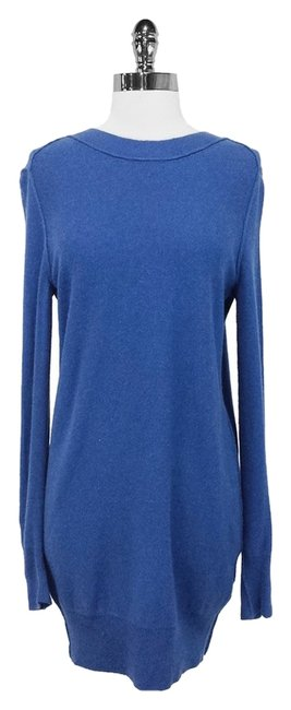 Preload https://item5.tradesy.com/images/see-by-chloe-blue-sweater-above-knee-short-casual-dress-size-8-m-3498424-0-0.jpg?width=400&height=650