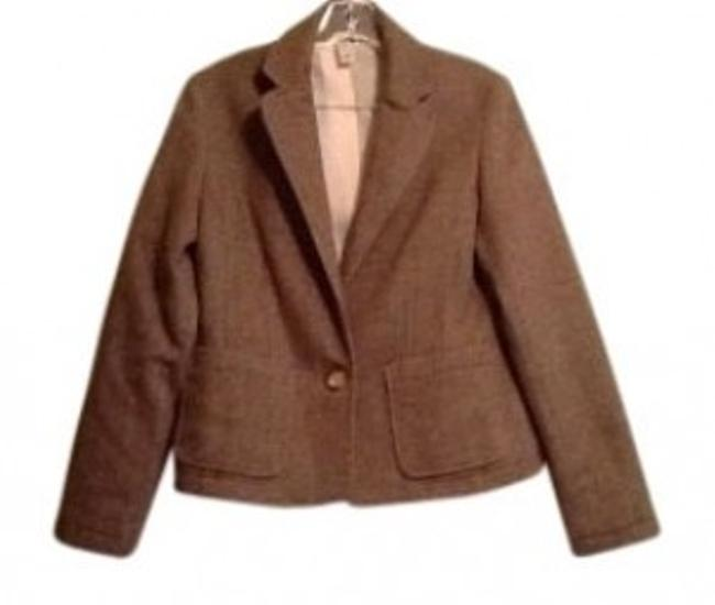 Old Navy Brown herringbone Blazer