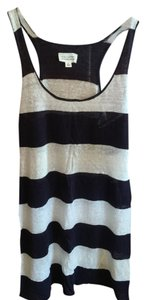 Nli Lotan short dress blue/white stripes on Tradesy