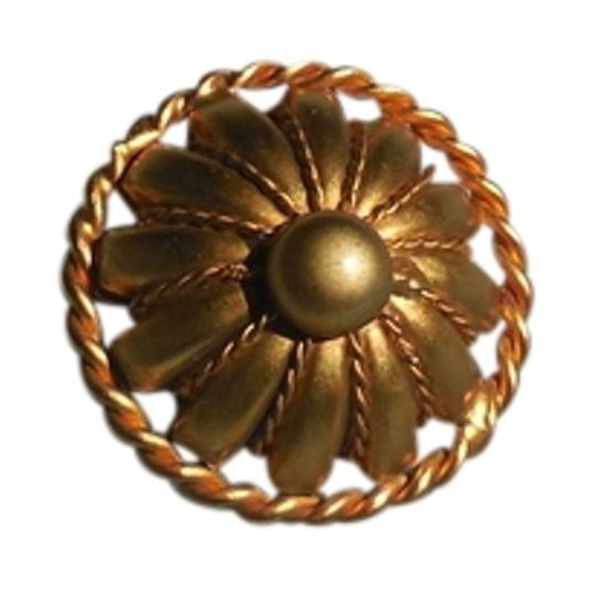 Other Goldtone Hinged Scarf Clip