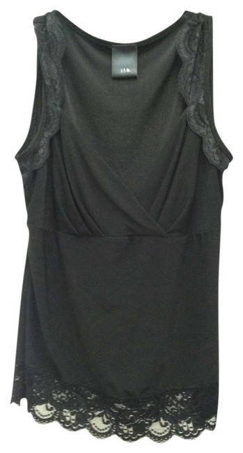 Preload https://img-static.tradesy.com/item/349965/macy-s-black-jbt-lace-trim-scalloped-sleeveless-tank-topcami-size-4-s-0-0-650-650.jpg