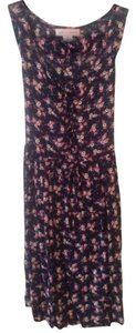 Band of Gypsies short dress Dark Blue, Floral on Tradesy