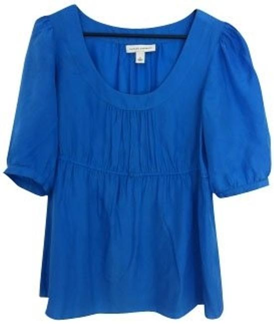 Preload https://item1.tradesy.com/images/banana-republic-blue-blouse-size-4-s-350-0-0.jpg?width=400&height=650