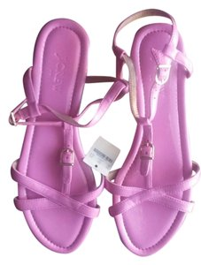 J.Crew New With Tags Bubblegum Rubber Sole Pink Sandals