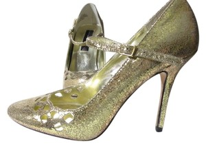 Steven by Steve Madden Wedding Bling High Heels Sparkle gold Pumps