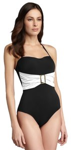 Spanx Whittle Waistline Belted Bandeau Swimsuit