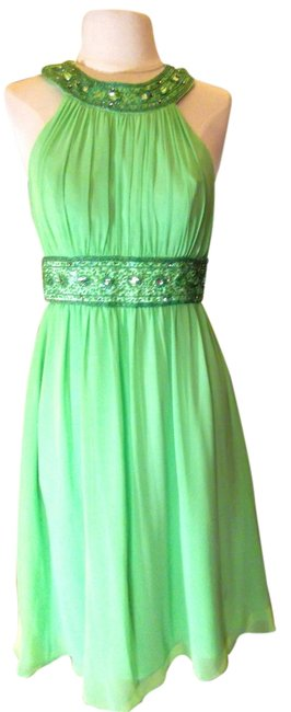 Preload https://item2.tradesy.com/images/cinderella-divine-bright-green-style-161-mid-length-short-casual-dress-size-6-s-3501016-0-0.jpg?width=400&height=650