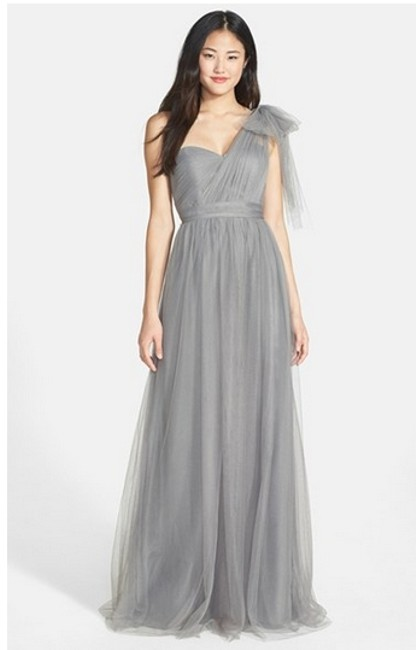 Item - Sterling Grey Casual Bridesmaid/Mob Dress Size 16 (XL, Plus 0x)