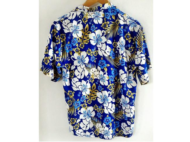 Up-One Rayon Button Down Shirt floral