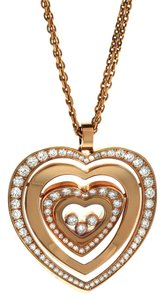 Chopard Chopard Diamond Hearts Pendant 797221-5002