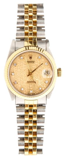 Rolex Rolex Diamond Dial Two Tone