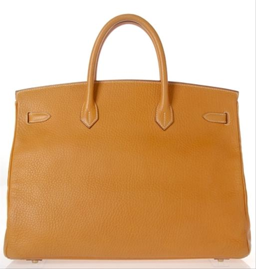 Hermès Satchel in Tan