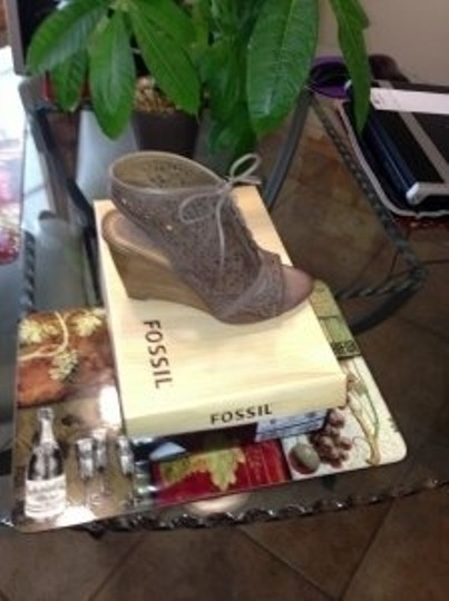 Fossil Taupe Wedges