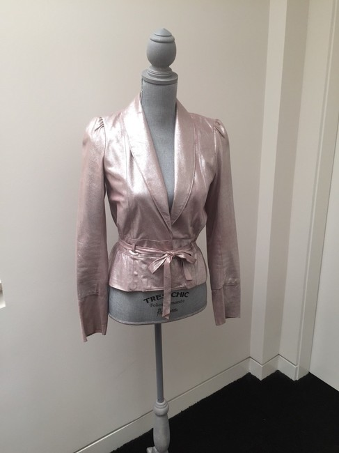 Twelfth St. by Cynthia Vincent Silvery Pink Jacket