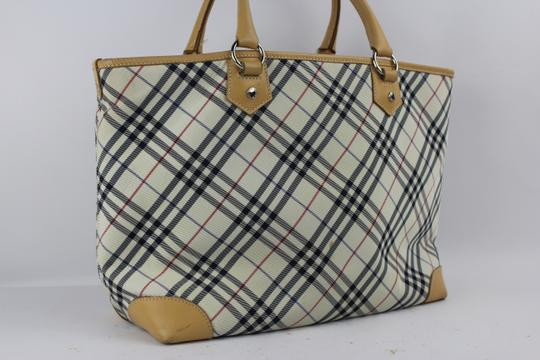 Burberry London Tote in Tan