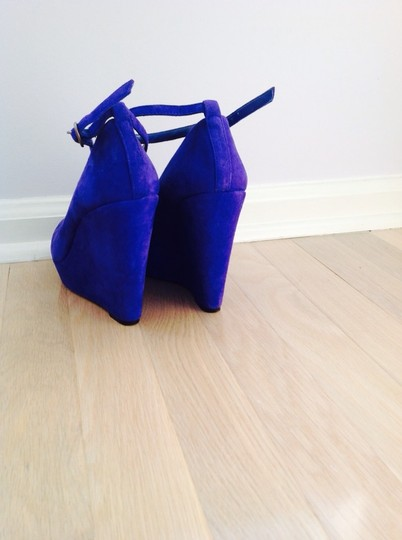 Jessica Simpson Royal Blue Wedges