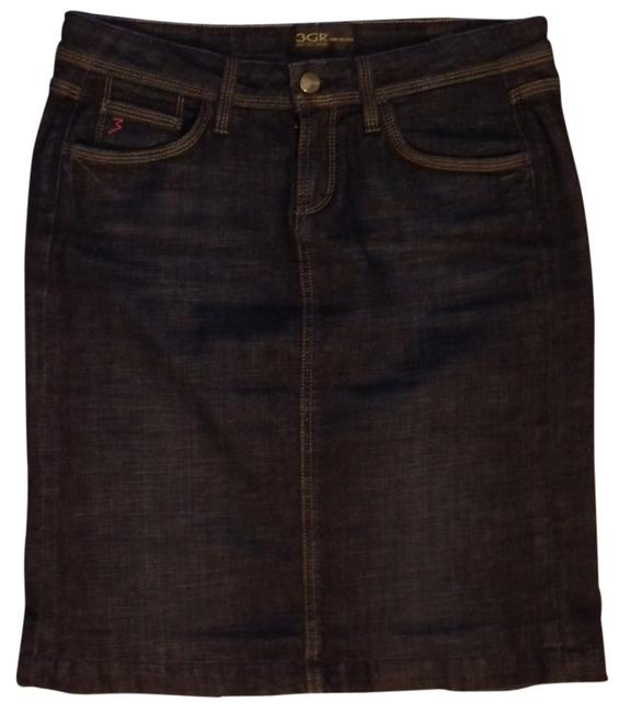 3GR Three Girls Running Skirt Indigo
