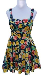 Modcloth short dress multicolor on Tradesy